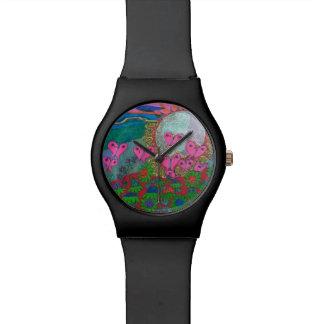 Mariposas Reloj De Mano