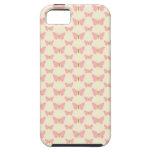 Mariposas rosadas bonitas iPhone 5 fundas