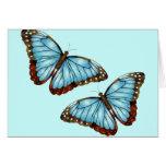 Mariposas salvajes felicitacion
