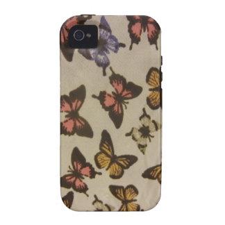 Mariposas salvajes iPhone 4 fundas