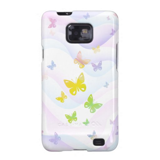 Mariposas Samsung Galaxy SII Carcasa