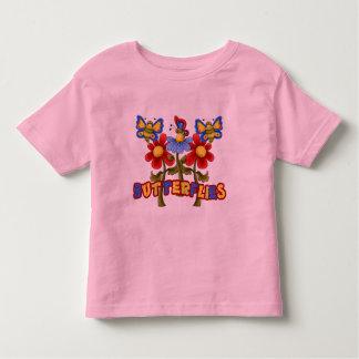 Mariposas - Schmetterlinge Playera De Niño