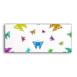 mariposas sobre
