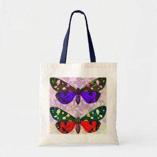 Mariposas soñadoras bolsa tela barata