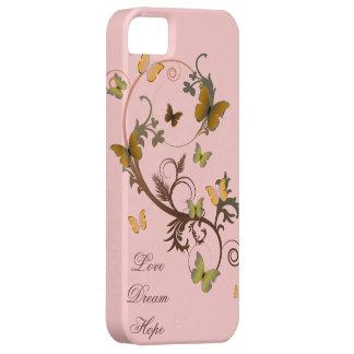 Mariposas terrosas funda para iPhone SE/5/5s