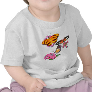 Mariposas tropicales camiseta