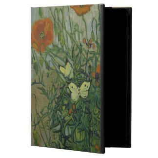 Mariposas y amapolas de Vincent van Gogh