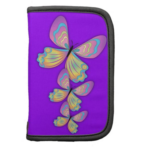 Mariposas y amor púrpura organizador