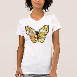 Mariposas y ángeles camiseta