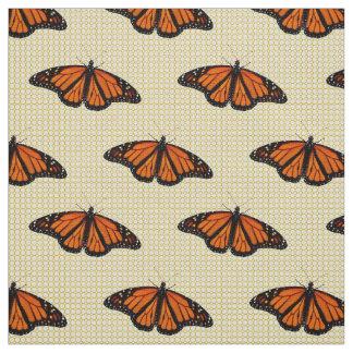 Mariposas y cordón telas