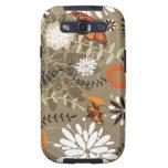 mariposas y flores lindas galaxy s3 cárcasas