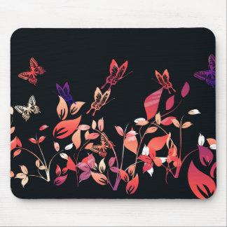 Mariposas y flores tapetes de raton