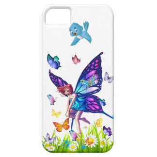 Mariposas y hada funda para iPhone SE/5/5s