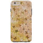 Mariposas y margaritas desconcertadas funda de iPhone 6 plus tough