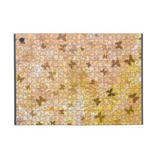Mariposas y margaritas desconcertadas iPad mini carcasa