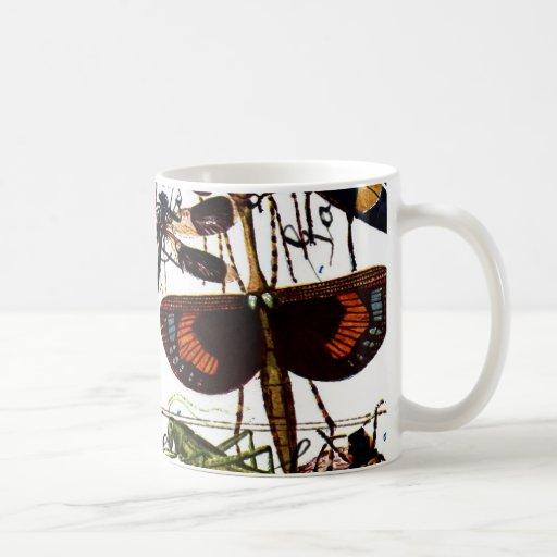 Mariposas y polillas taza