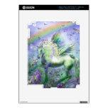 Mariposas y Ranbows del unicornio iPad 3 Pegatinas Skins