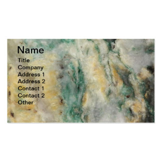 Mariposite Mineral Stone Double-Sided Standard Business Cards (Pack Of 100)