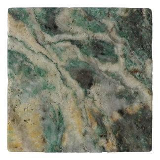 Mariposite Mineral Stone Image Trivet