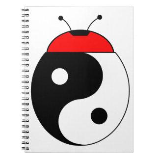 mariquita armonizó spiral notebooks