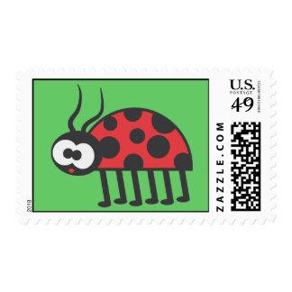 Mariquita curiosa sellos