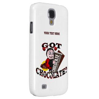 """Mariquita de Chocoholic - """"consiguió el chocolate? Funda Para Galaxy S4"""
