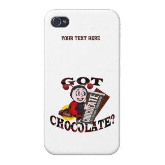 "Mariquita de Chocoholic - ""consiguió el chocolate? iPhone 4/4S Carcasa"