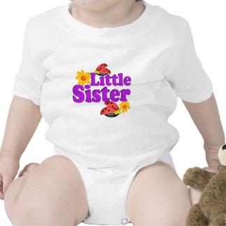 Mariquita de la pequeña hermana trajes de bebé