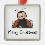 Mariquita de las Felices Navidad Ornamento Para Reyes Magos