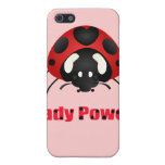 "Mariquita de ""señora Power"" iPhone 5 Cobertura"