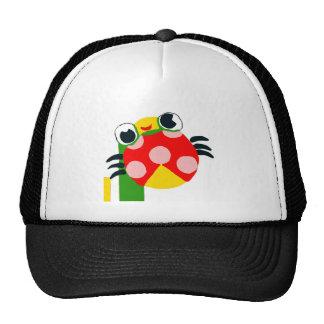 Mariquita del dibujo animado gorras de camionero