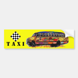 Mariquita del microbús del taxi pegatina para auto