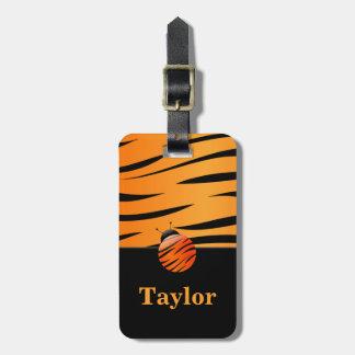 Mariquita del tigre etiquetas bolsas