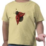 Mariquita del vuelo camiseta