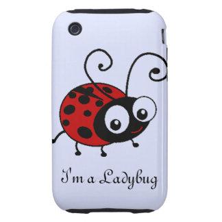 Mariquita Tough iPhone 3 Carcasas