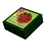 Mariquita gigante caja de regalo
