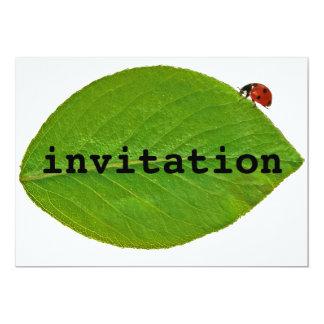 """Mariquita Invitación 5"""" X 7"""""""