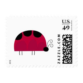 Mariquita linda sellos postales