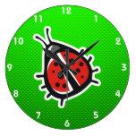 Mariquita linda; Verde Reloj