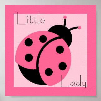 "Mariquita ""pequeña señora"" impresión posters"