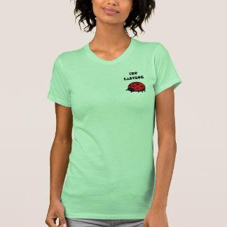 Mariquita preciosa la camiseta menuda 2 de las poleras