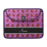 Mariquita púrpura en colores pastel conocida perso funda macbook pro