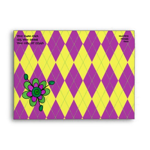 Mariquita púrpura y amarilla de Argyle