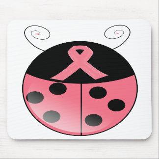 Mariquita rosada alfombrilla de ratones