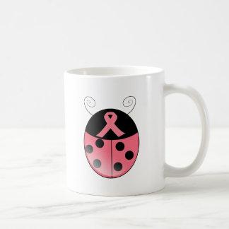 Mariquita rosada taza clásica