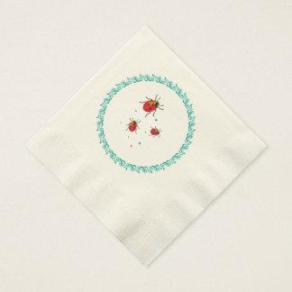 Mariquita Serie - servilletas de papel