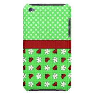 Mariquitas y margaritas iPod touch Case-Mate carcasa