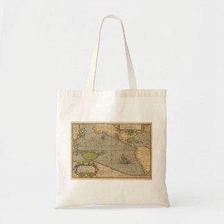 Maris Pacifici by Abraham Ortelius 1589 Tote Bags