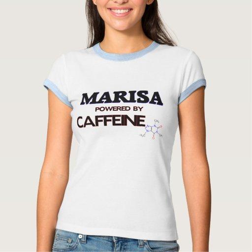 Marisa accionó por el cafeína tshirt