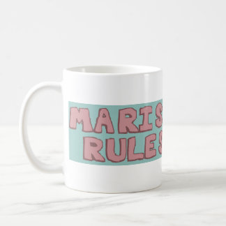 Marisa Rules Coffee Mug -Live by your own rules.